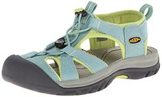 KEEN Womens Venice H2 Sandal Mineral BlueGreen Glow 5 M US *** New and awesome product awaits you, Read it now