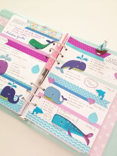 #Kikki-K Large Time Planner : : The beautiful Australian Waters Inspired, celebrating AUSTRALIA DAY