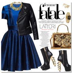 LATTORI by oshint on Polyvore featuring moda, Lattori, Sisters Point, Dsquared2, Dolce&Gabbana, Chanel, Ted Baker and lattori