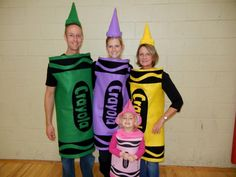 How to make a crayon costume crayon costume diy pinterest she wants to be purplehappy halloween diy crayon costumes solutioingenieria Choice Image