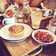 Last nights pie feast!! Sooooo gooooodddd!!  #VSCOcam #whereisthepieemoji?! #pies #love #yummy #friends @pieminister