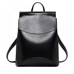 Elegant Women's Backpack Price: 27.84 & FREE Shipping #online #shopping #market #electronics4 #pets #fitness #home #personal #beauty #bags #mobile #camera #jewellery #car #books #toys #kids #fashion Shoulder Backpack, Backpack Purse, Black Backpack, Leather Shoulder Bag, Shoulder Straps, Travel Backpack, Ladies Backpack, Modern Backpack, Chic Backpack