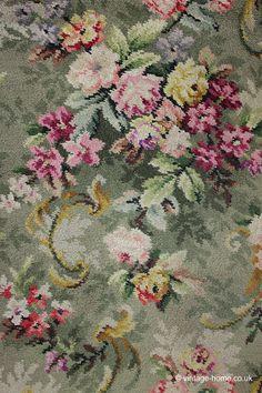 Vintage Home - Roses and Floribunda Carpet Runner.
