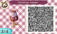 New Leaf QR Codes — starvilexing: Cranberry Christmas jumper...