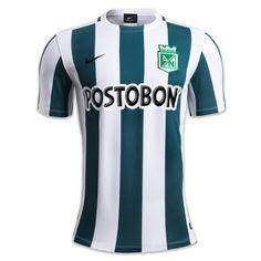 Camiseta de Juego Local Niño Nike 2015  1409762 Atlético Nacional af516b88af6e9