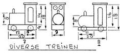 Plans for a variety of toys for the dollhouse