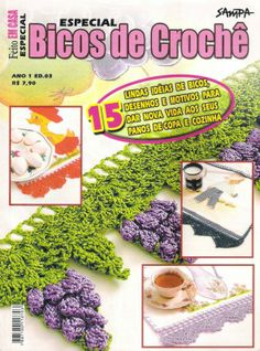 Bicos de Croche #crochet patterns #afs collection