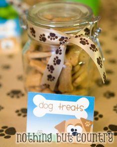 """#Puppy Party Treats: """"Dog Treats"""" (Scooby Snack Graham Crackers)"""
