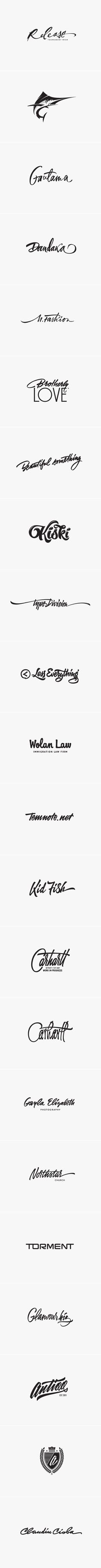 || Logo set :: by Sergey Shapiro :: via Behance