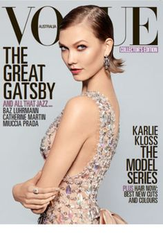 Karlie Kloss Wears Prada-Designed Dresses from The Great Gatsby in Vogue - Fashionista