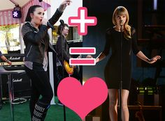 Prepare to have this on repeat for at least a week.   This Taylor Swift And Demi Lovato Mashup Is Heaven For YourEars