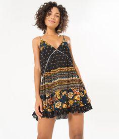vestido curto tamarindo