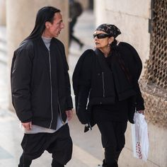 Alexander Wang and Michelle Lamy (Photo by Manuel Pallhuber.)