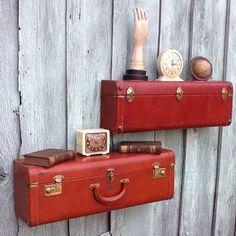 """Милые сердцу штучки: """"Вторая жизнь старого чемодана"""""""