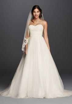 David's Bridal David's Bridal Collection Style WG3802 Wedding Dress - The Knot
