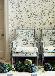Products | Wallpapers | Woodville Wallpapers | Zoffany Available at James Brindley, www.jamesbrindley.com.