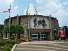 Pro Football Hall of Fame-Canton,Ohio