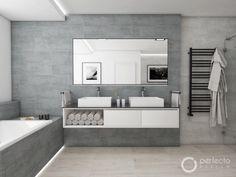 Moderní koupelna HELVETIA | Perfecto design Toilet Design, Bath Design, Home Interior, Bathroom Inspiration, Bathroom Bath, Modern Bathroom, Decoration, My House, Life Hacks