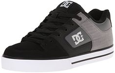 DC Men's Pure SE Skate Shoe - http://shop.dailyskatetube.com/?post_type=product&p=2057 -   DC's DGT (Dynamic Grip Era) sole to assist make stronger board grip and regulate Nubuck or leather higher for more total shoe sturdiness Sturdy steel eyelets Foam padded tongue and collar for more cushion and coverage Ventilation holes on higher make stronger breathability  -