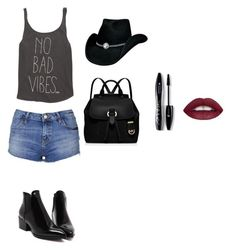 """""""Untitled #16"""" by elma-camdzic ❤ liked on Polyvore featuring Billabong, Topshop, MICHAEL Michael Kors and Lancôme"""