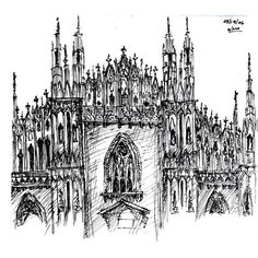 Italy Sketches on site by Yinette Guzman ❤ liked on Polyvore featuring fillers, backgrounds, drawings, sketches, art, doodles, effects, text, details and quotes