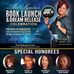 4/13/14 in Fredericksburg, VA - So happy for my dear friend Ari Squires . . . come celebrate Ari's accomplishment and those of her Honorees (including me :-))