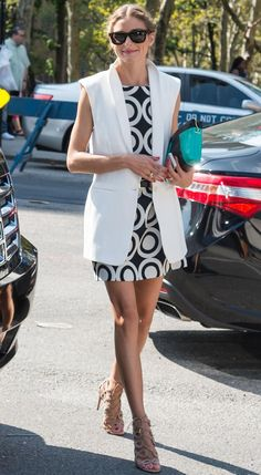 As summer heats up, we're taking Olivia Palermo's advice.