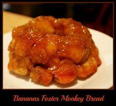 Bananas Foster Monkey Bread http://www.momspantrykitchen.com/bananas-foster-monkey-bread.html