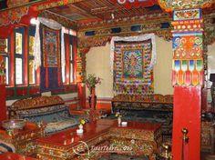 Tibetan style decoration