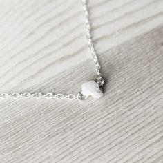 Yes Please. Rough Diamond Necklace now featured on Fab.