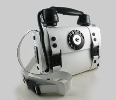 Industrial Gothic Steamapunk white leather by hitekdesigns on Etsy, $280.00
