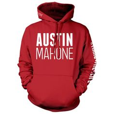VARSITY RED PULLOVER HOODIE! I might buy this!