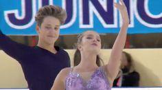 2016 ISU Junior Grand Prix - Saransk - Free Dance - Christina CARREIRA /...