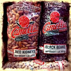 Essential #NOLA #food for the kitchen: Camellia red beans! Made in Louisiana