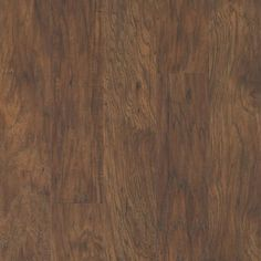 QuickStep Studio Toasted Chestnut 4.85-in W x 3.93-ft L Handscraped Wood Plank Laminate Flooring