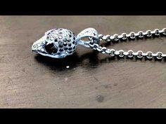 Bird Skull Pendant Pave Black Diamonds  http://www.sofferaristore.com/biskpepabldi.html