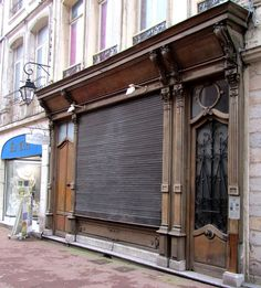 Douai -art nouveau shop front  by april-mo