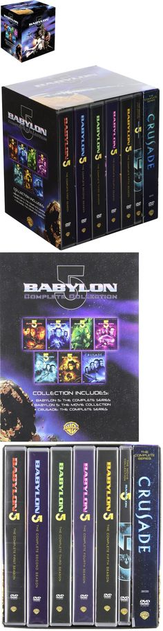 cds dvds vhs: Babylon 5: Complete Series W Movie Collection And Crusade Series [Dvd Box Set] -> BUY IT NOW ONLY: $99.99 on eBay!