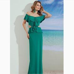 Um vestido longo très chic!!!😍😍😍#reginasalomao #SS17 #TropicalVibesRS