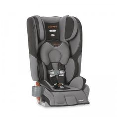 A convertible car seat that can be used as a rear-facing seat for infants, a forward-facing seat for toddlers, as well as a booster for a child up to 120 pounds.