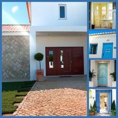 #Portasdeentrada com charme e personalidade em estilos diferentes e com qualidade e segurança. www.mestreraposa.com