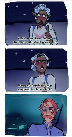 3/3 allura's expressions in this whole comic are just fantastic