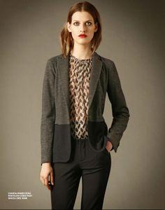 6 Blazer, Jackets, Gold, Women, Fashion, Down Jackets, Moda, Women's, La Mode