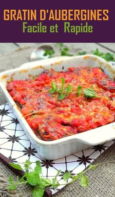 Right here is an eggplant gratin tremendous straightforward and fast to organize, a household pleasant recipe that everybody appreciates from us. This aubergine gratin is gluten free and vegetarian. Easy Vegetable Recipes, Healthy Recipes On A Budget, Easy Smoothie Recipes, Healthy Dinner Recipes, Family Meals, Easy Meals, Cooking, Ethnic Recipes, Voici