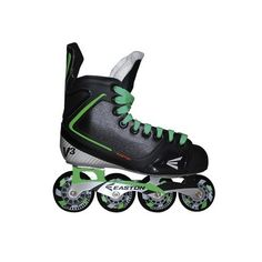 PATINS EASTON STEALTH V3 GREEN JR Air Max Sneakers, Sneakers Nike, Cleats, Jr, Nike Air Max, Green, Shoes, Products, Rolling Skate