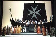 """""""Il crociato in Egitto"""", G. Meyerbeer, Venezia, Teatro La Fenice, 2007, Regia, Scenografia - Costumi di Pier Luigi Pizzi"""