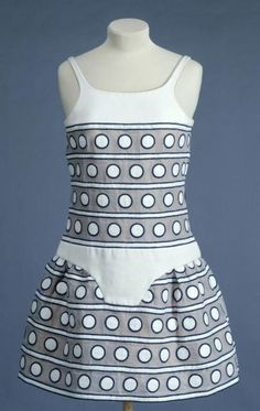 Dress, no medium available, Andre Courreges designer, French, 1968