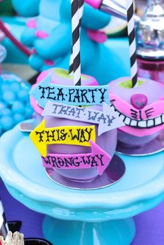 Alice in Wonderland Birthday Party Ideas | Photo 1 of 90