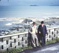 [Michael A Walker and his brother, Richard, at Portmarnock, Co. Dublin, July 1960] by Walker, Michael S. Published / Created: [1960] Dublin, Old Photos, Brother, Mountains, Travel, Image, Old Pictures, Viajes, Vintage Photos