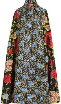 Duro Olowu Embroidered silk cape on shopstyle.com.au